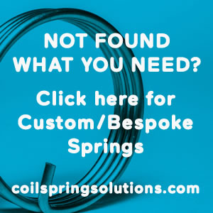 Not found what you need - visit coilspringsolutions.com for custom/bespoke springs